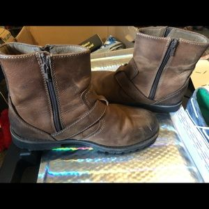 💍GUC Chaps Men's Size 10M Brown Zip Up Boots
